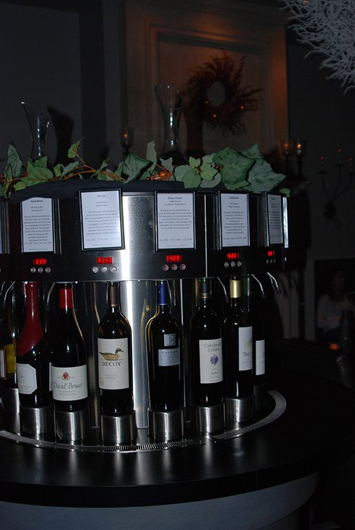 Wine-o-matic at Cuvee Wine & Bistro