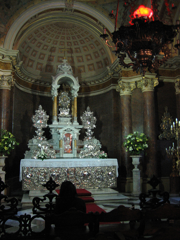Magnificent altar