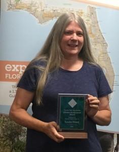 Sandra Friend receives Lifetime Achievement award