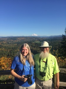 Sandra and John in Oregon