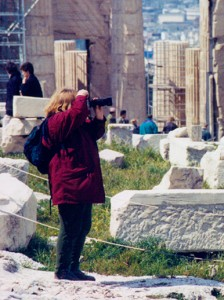 Photographing the Acropolis, Athens