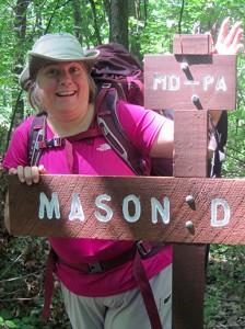 At the Mason-Dixon