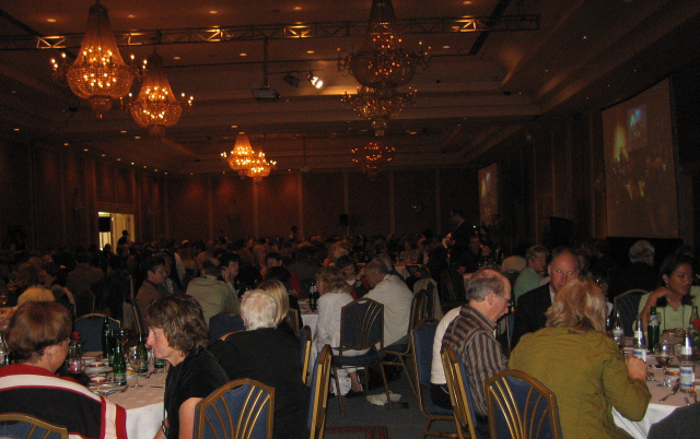 Awards luncheon at the SATW Convention