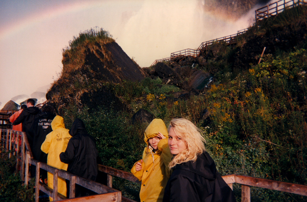 My sisters at Niagara Falls